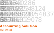 Accounting Solution Hull Logo